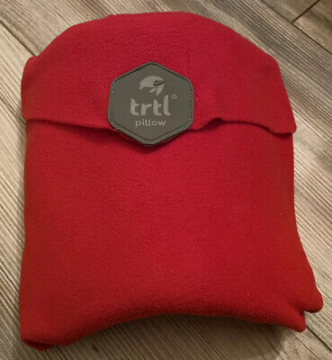 Trtl Travel Neck Support Pillow in Red