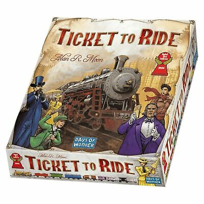 Days of Wonder Ticket to Ride Train Adventure Board Card Family Game Alan R Moon