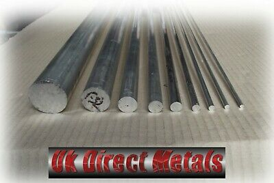 Aluminium Metric Round bar 4MM - 12MM Grade 6082 Free Delivery & Cutting