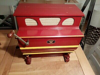 Antique cylinder music box perfect working order.
