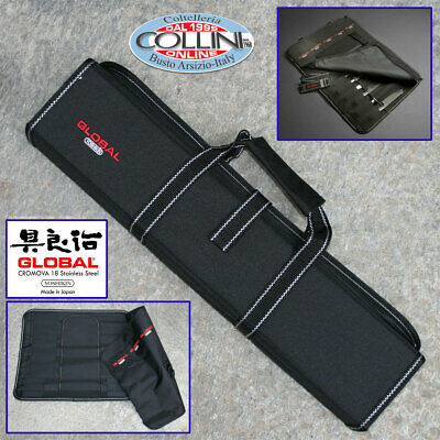 Global - Knife Case Suitcase - 11 Pieces - kitchen knife