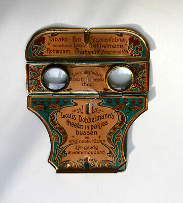Stereobetrachter NPG Dobbelmann´s  plus 10 Stereokarten  Stereoskop Stereoviewer