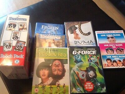 Selection Of Family Dvds ( 3 Unopened)