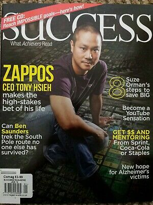 Success Magazine Pack Of 4 (Number 3)