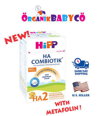 HiPP HA2 HYPOALLERGENIC Infant Formula After 6 MONTHS FREE Shipping!