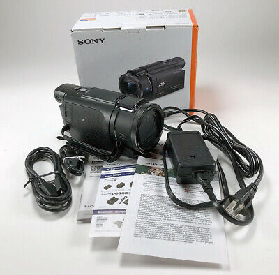 LNIB Sony FDR-AX53 4K Camcorder. Tested but never used!