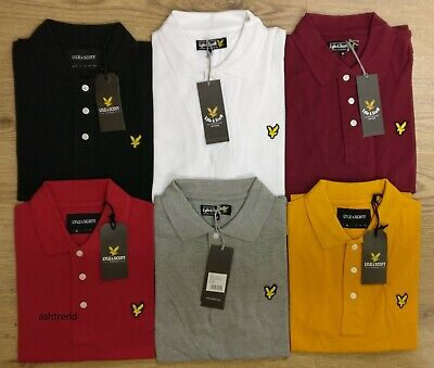 Lyle and Scott Short Sleeve Men's Polo Shirt Clearance Sale