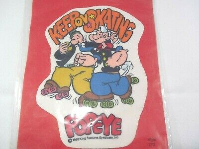 Rare Popeye Collectible Hat Hipster Jacket Hoodie Backpack Iron On Patch Crest