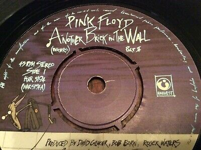 """Pink Floyd - another brick in the wall - ORIGINAL 7"""" vinyl - EXCELLENT"""