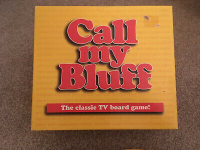 CALL MY BLUFF Classic Muir TV Family Party Board Game Lamond Games 1999