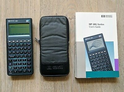 HP 39Gs Calculator User/'s Guide Manual HP OEM New