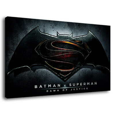 MOVIE POSTER AB085 BATMAN SUPERMAN FACE OFF Poster Print Art A0 A1 A2 A3