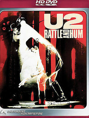U2 Rattle and Hum HD-DVD 2006 Desire Heartland Bad Love Comes To Town NEW SEALED