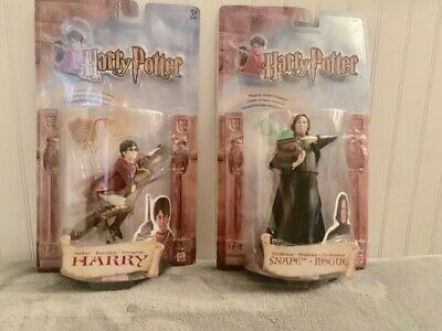 HARRY POTTER & The Sorcerers Stone  Action Figures (2001) Harry And Snape