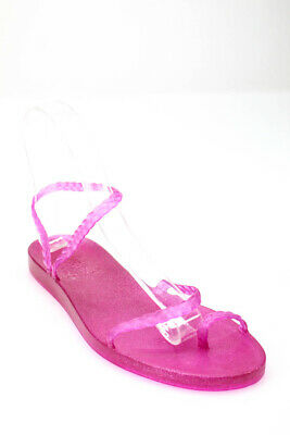 Ancient Greek Sandals Womens Ankle Sandals Pink Size 7
