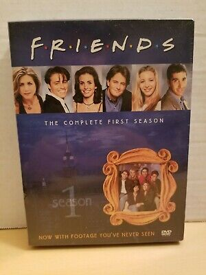 Friends - The Complete First Season ( DVD 2002, 4-Disc Set Four Disc Boxed Set )