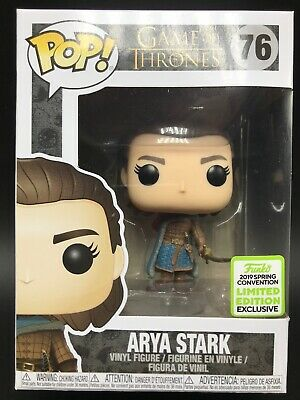 Funko POP! Arya Stark #76 Game of Thrones GoT 2019 ECCC Shared Exclusive