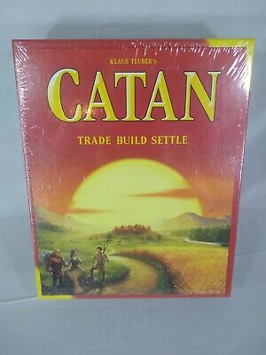 Catan CN3071 Standard Board Game - 2019 Edition - New in Sealed Box