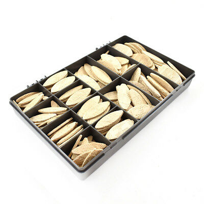 210 Assorted Lamello Style Wooden Biscuits 0 10 20 30 Joinery Worktop Wood Kit