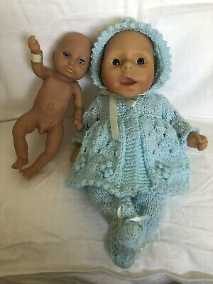 2 X Anatomically Correct Baby Boy Dolls