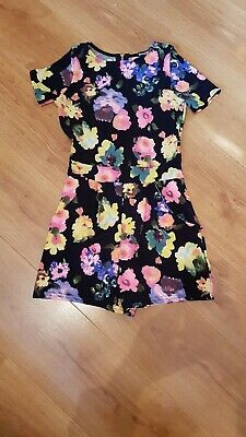 Boo Hoo ladies playsuit size 6