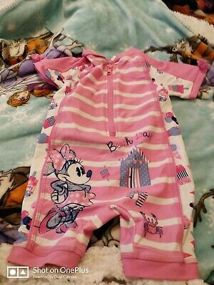 Lovely Girls multi fashion swimming suit age 9-12 mths
