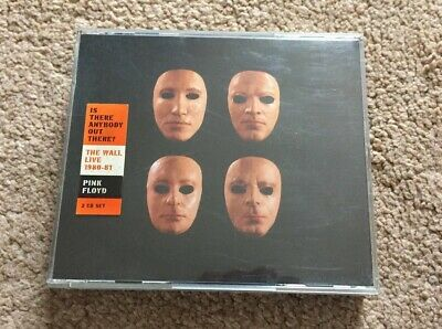 Pink Floyd Is There Anybody Out There? The Wall live 1980/81 Double CD Fat Box