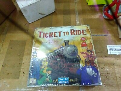 Days of Wonder Ticket to Ride Board Game USA Free Shipping