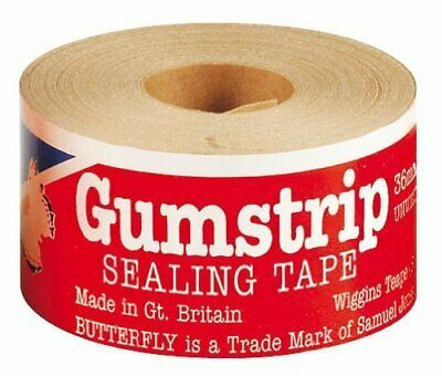 Butterfly Gumstrip Sealing Tape 36mm x 35m Pack of 20