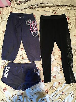 lot of Justice girls shorts, leggings, sweat pants. Size 6,7 & 8 back to school