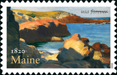 #5456 2020 Maine Statehood Single (Ships after march 15 2020) - MNH