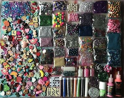 Large Job lot Decoden Flatback Cabochons Resin Kawaii Kitsch Items