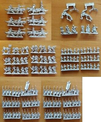 Warmaster Dark Elf / Elves Various units - combined postage on multiple