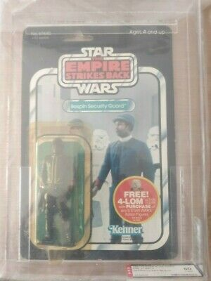 STAR WARS VINTAGE - Bespin Security Guard ESB back47 AFA 80