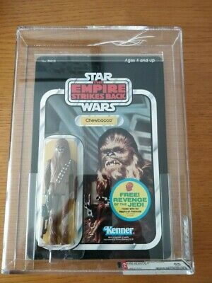 STAR WARS VINTAGE - Chewbacca ESB back48 AFA 85