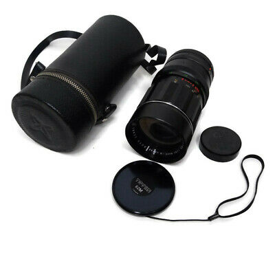 Sears Automatic Diaphragm 55mm - 135mm f 3.5 Zoom Camera Lens With Case End Caps