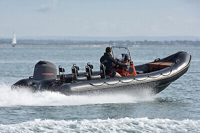 Tornado 6.6m RIB 150hp 4 Stroke with New black Tubes 6 seats A Frame 1400 hours