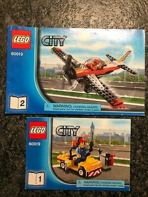 LEGO City Stunt Plane 60019 Instruction Manuals