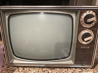 Zenith Black And White Tv