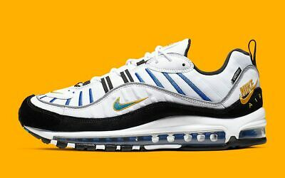 W AIR MAX 97 White Game Royal Neutral Grey | UK6.5 US9