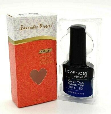 Lavender Violets  Soak Off   UV & LED Colour Coat 8ml