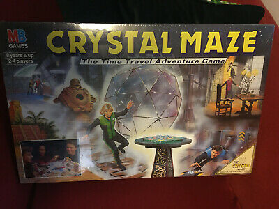 The Crystal Maze Board Game 1991 - Unused Brand New and Sealed