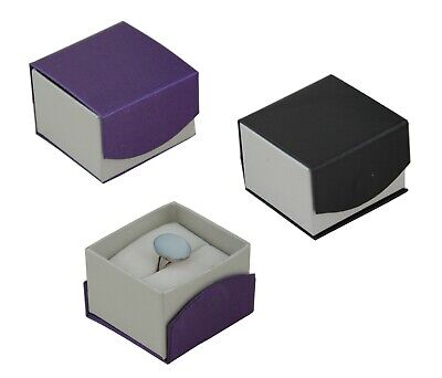 High Quality Ring Jewellery Box Jewelry Ring Holder Display Present Gift Boxes