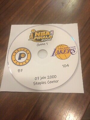 NBA Finals 2000 DVD Kobe Bryant Pacers Vs Lakers
