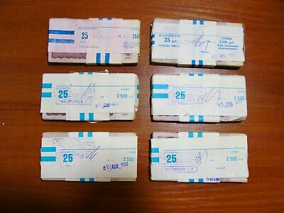 25 roubles 1961 USSR * 100 banknotes in bank bundle