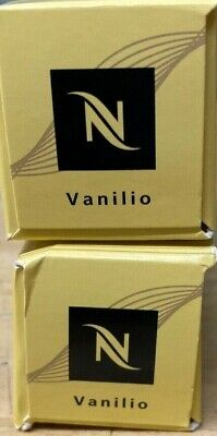 20x Nespresso-Vanilio Coffee Capsules Pods 53g-Original-Charity Sale