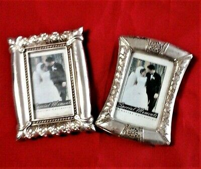 Two Small Silver Picture Frames