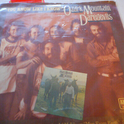 Ozark Mountain Daredevils' You Know Like I Know 45 & Picture Sleeve 1976