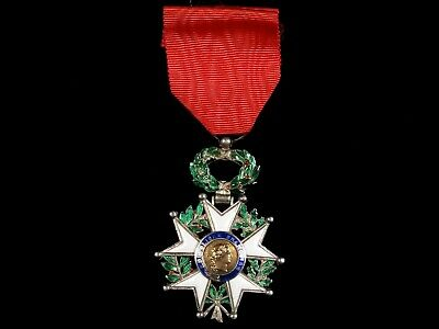 French Medal Legion Of Honor Chevalier 4th Republique