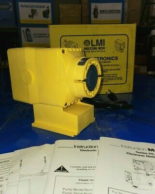 LMI Milton Roy: A951 Chemical Metering Pump, NEW! 1.0 GPH / 110 psi / 115 VAC